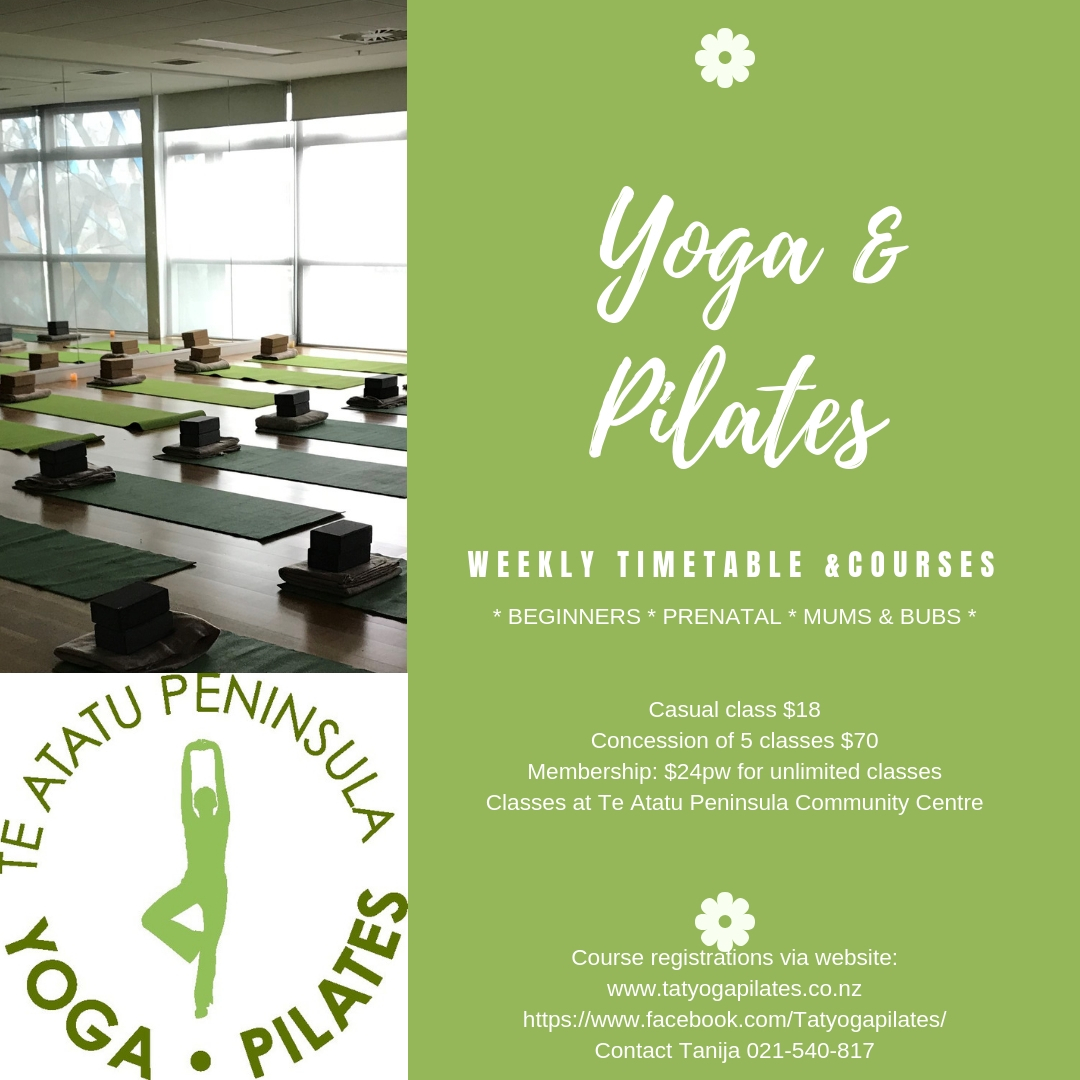 Yoga & Pilates Classes - Instagram artwork jpeg